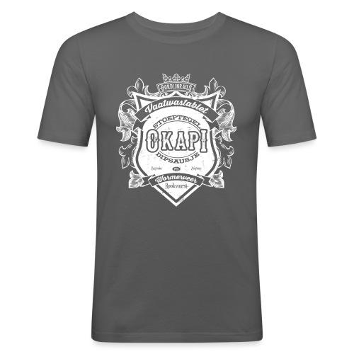 Okapi mannen slimfit - slim fit T-shirt