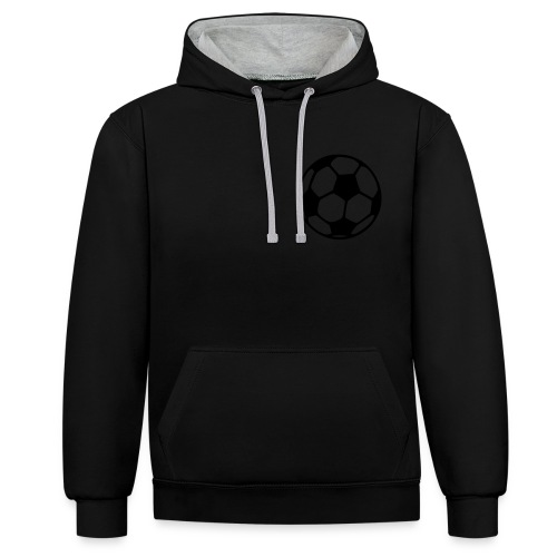 Ahmed Fußball - Kontrast-Hoodie
