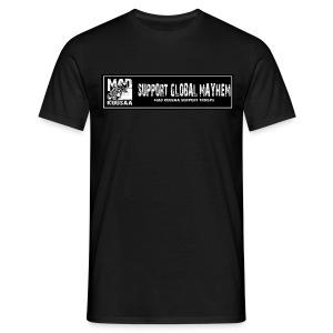 Global Mayhem t-shirt - Miesten t-paita
