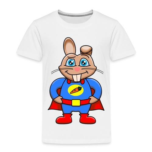 Super Kaninen T-shirt - Premium-T-shirt barn