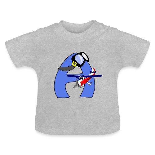 tee-shirt alphabet - T-shirt Bébé
