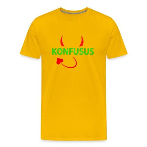 Männer T-Shirt Yellow  - Männer Premium T-Shirt