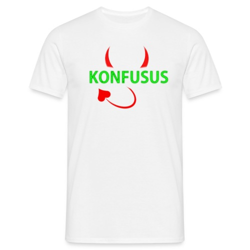Männer T-Shirt White - Männer T-Shirt