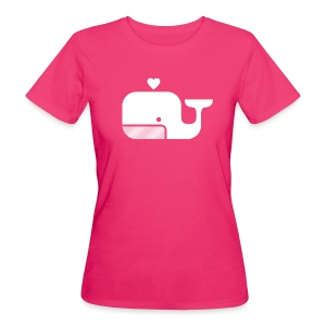Ben der Blauwal  - Frauen Bio-T-Shirt