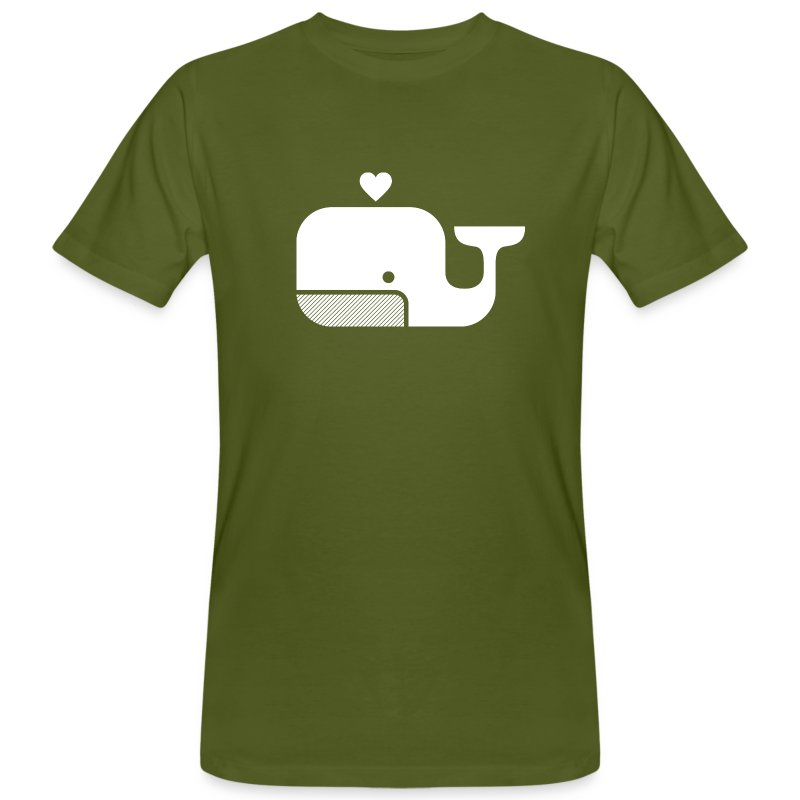 Ben der Blauwal  - Männer Bio-T-Shirt
