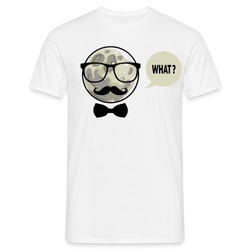 Hipster Moon | T-Shirt - Männer T-Shirt