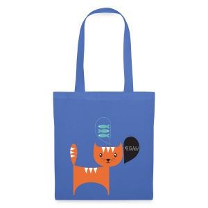 sac chat roux - Tote Bag