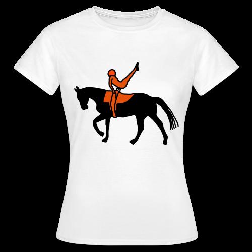 Voltigieren - Stützschwung - Frauen T-Shirt