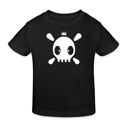 Henri der Totenkopf  - Kinder Bio-T-Shirt