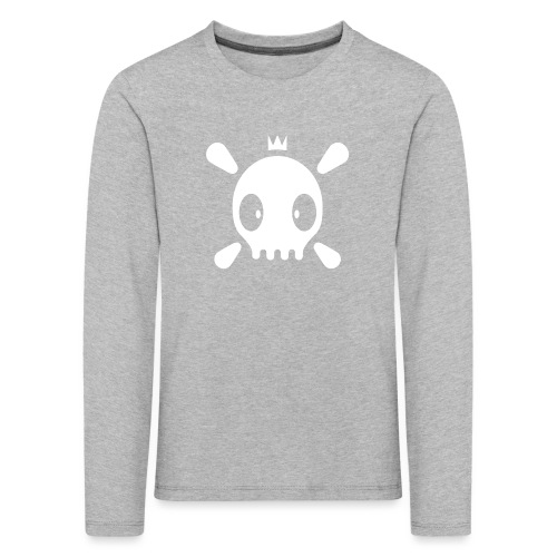 Henri der Totenkopf  - Kinder Premium Langarmshirt