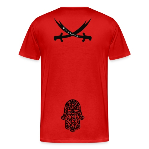 Hadith. rood - Mannen Premium T-shirt