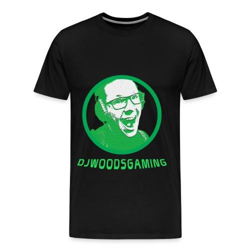T-Shirt DJWG Groen Man - Mannen Premium T-shirt