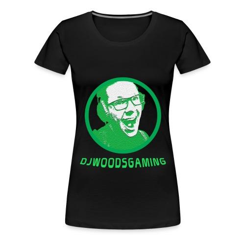 T-Shirt DJWG Groen Vrouw - Vrouwen Premium T-shirt