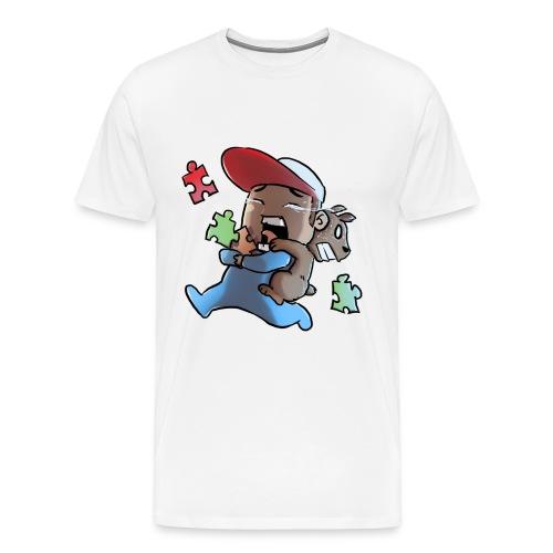 PEO E TEDDY - Maglietta Premium da uomo