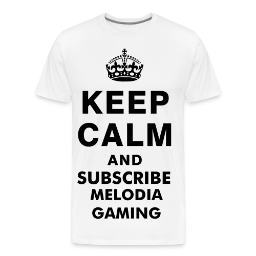 SUBSCRIBE MELODIA GAMING - T-shirt Premium Homme