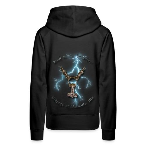 Hail to the hammer - hoodie (dame) - Dame Premium hættetrøje