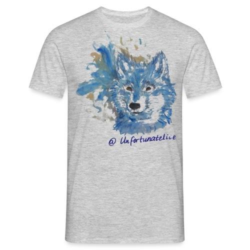 Wolf Spirits - Männer/blau - Männer T-Shirt