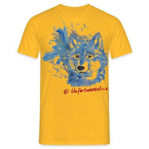 Wolf Spirits - Männer/rot - Männer T-Shirt