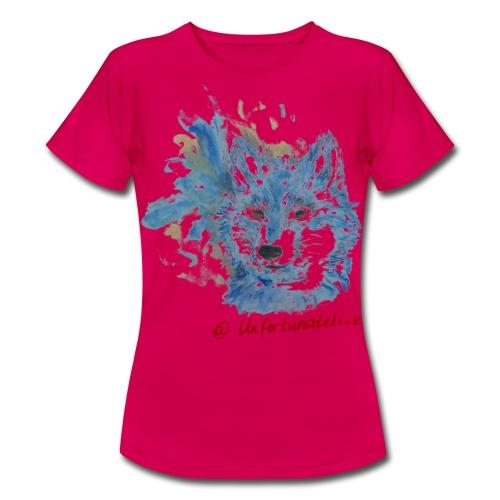 Wolf Spirits - Frauen/rot - Frauen T-Shirt