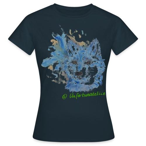 Wolf Spirits - Frauen/grün - Frauen T-Shirt