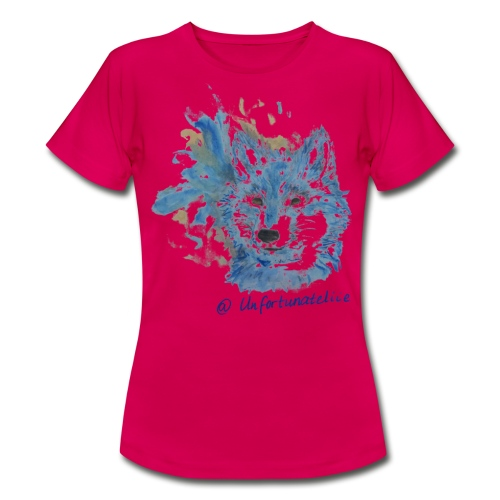 Wolf Spirits - Frauen/blau - Frauen T-Shirt