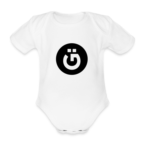 GÜ-Tee Baby | white - Baby Bio-Kurzarm-Body