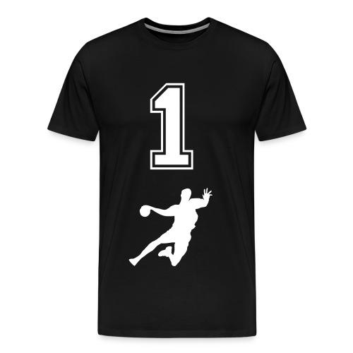 Männer Premium T-Shirt - Handball,Sport