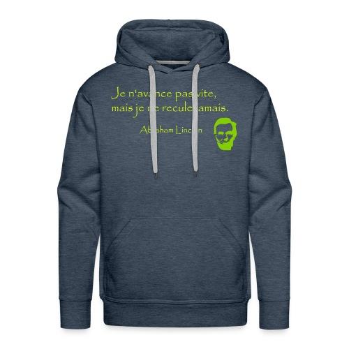 Sagesse US - Sweat-shirt à capuche Premium pour hommes