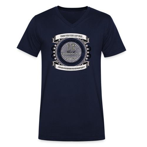 DAS T-Shirt V-Ausschnitt  - Männer Bio-T-Shirt mit V-Ausschnitt von Stanley & Stella