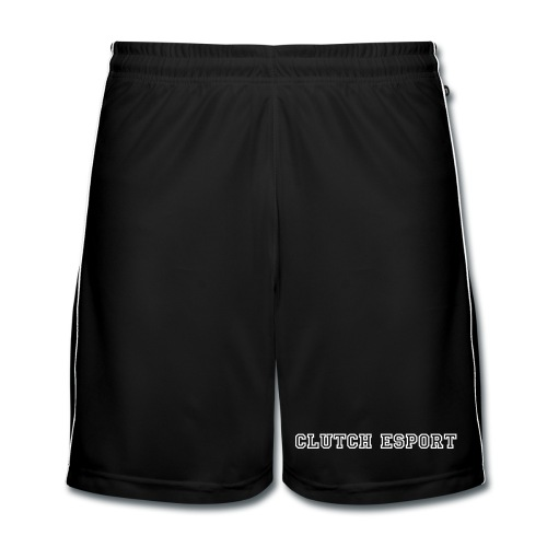 Short - White on Black - Short de football Homme
