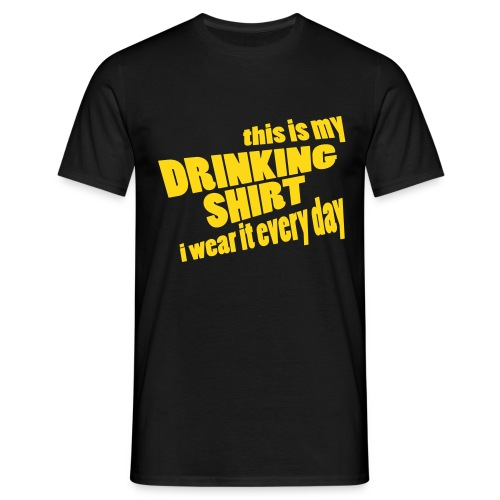 T-shirt This is my drinking shirt - Mannen T-shirt