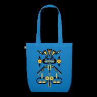 Tassen & rugzakken ~ Bio stoffen tas ~ Tas symmetrisch figuur