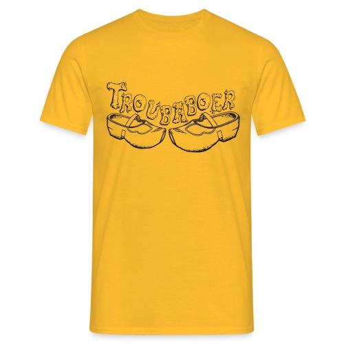 T-shirt Troubaboer met klompen - Mannen T-shirt