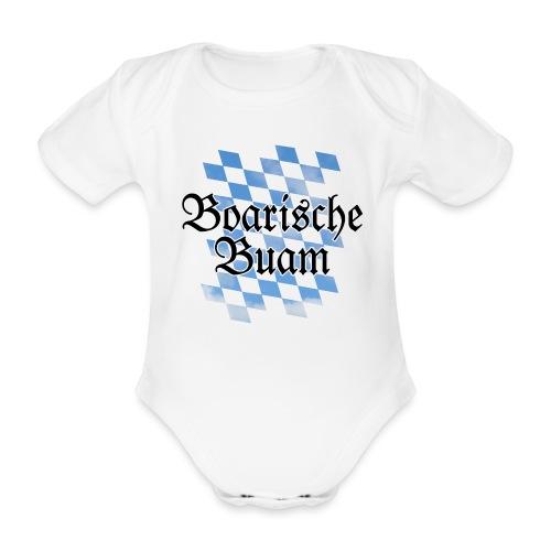 Boarische Buam Bayern Babybody - Baby Bio-Kurzarm-Body