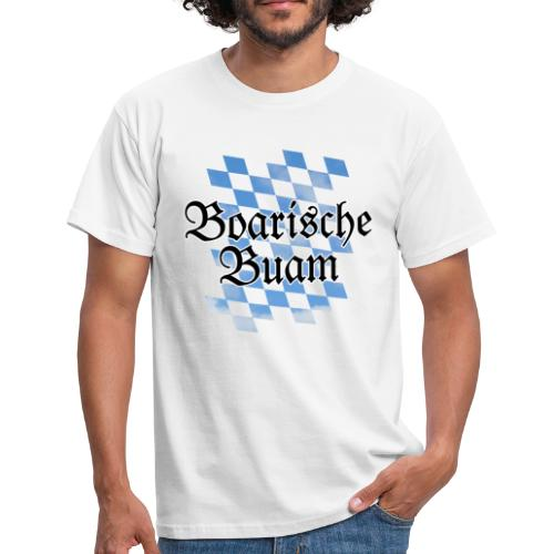 Boarische Buam Bayern T-Shirt (Herren) - Männer T-Shirt