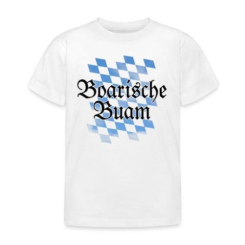 Boarische Buam Bayern T-Shirt (Kinder) - Kinder T-Shirt