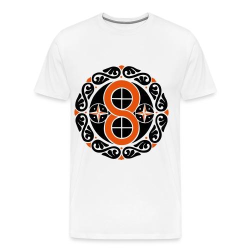 8 - Camiseta premium hombre