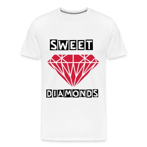 SWEET DIAMONDS - Camiseta premium hombre