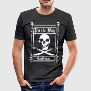 pirate T-Shirts - Men's Slim Fit T-Shirt