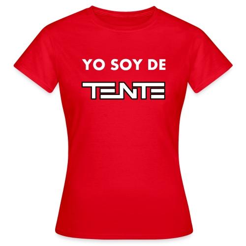 Camiseta de mujer Yo soy de TENTE - Camiseta mujer