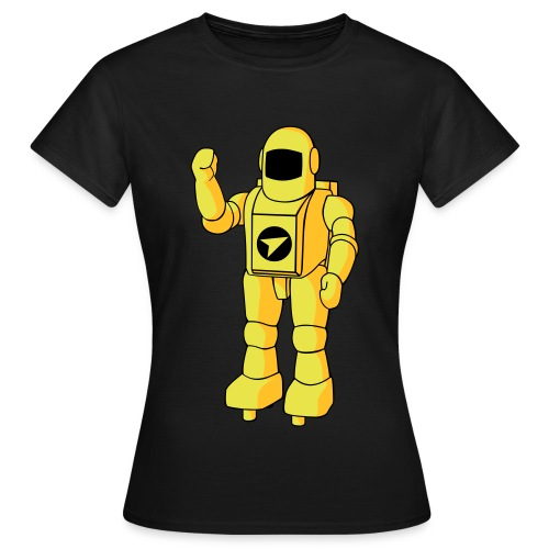 Camiseta de mujer Astro (Negra)  - Camiseta mujer