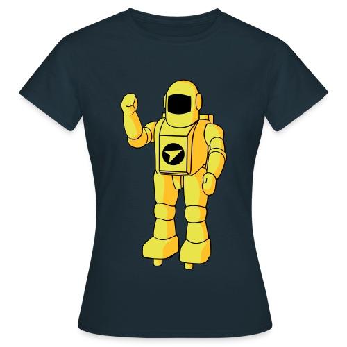 Camiseta de mujer Astro (Azul Marino)  - Camiseta mujer