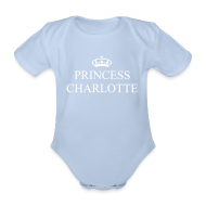 Shirts ~ Baby Bodysuit ~ Gin O'Clock Princess Charlotte Baby Vest - from the official Gin O'Clock shop.