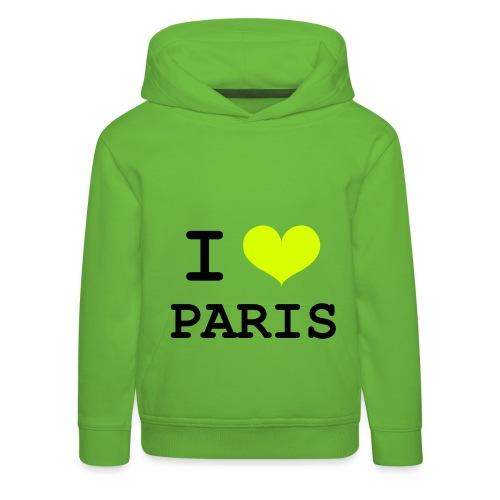 Trui voor jongens en meiden Paris - Kinderen trui Premium met capuchon
