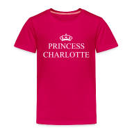 Shirts ~ Kids' Premium T-Shirt ~ Gin O'Clock Princess Charlotte Kids T-Shirt - from the official Gin O'Clock shop.