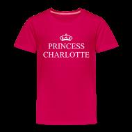 Shirts ~ Kids' Premium T-Shirt ~ Gin O'Clock Princess Charlotte Kids T-Shirt - from the official Gin O'Clock shop.