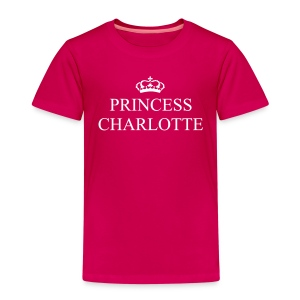 Gin O'Clock Princess Charlotte Kids T-Shirt - from the official Gin O'Clock shop. - Kids' Premium T-Shirt