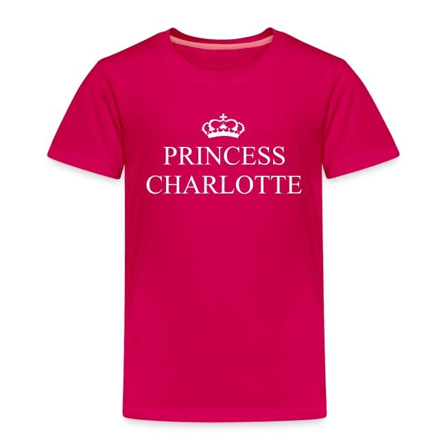 Gin O'Clock Princess Charlotte Kids T-Shirt - from the official Gin O'Clock shop.