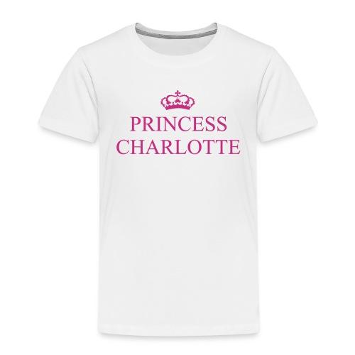 Gin O'Clock Princess Charlotte Kids T-Shirt - from the official Gin O'Clock shop. - Kids' Premium T-Shirt