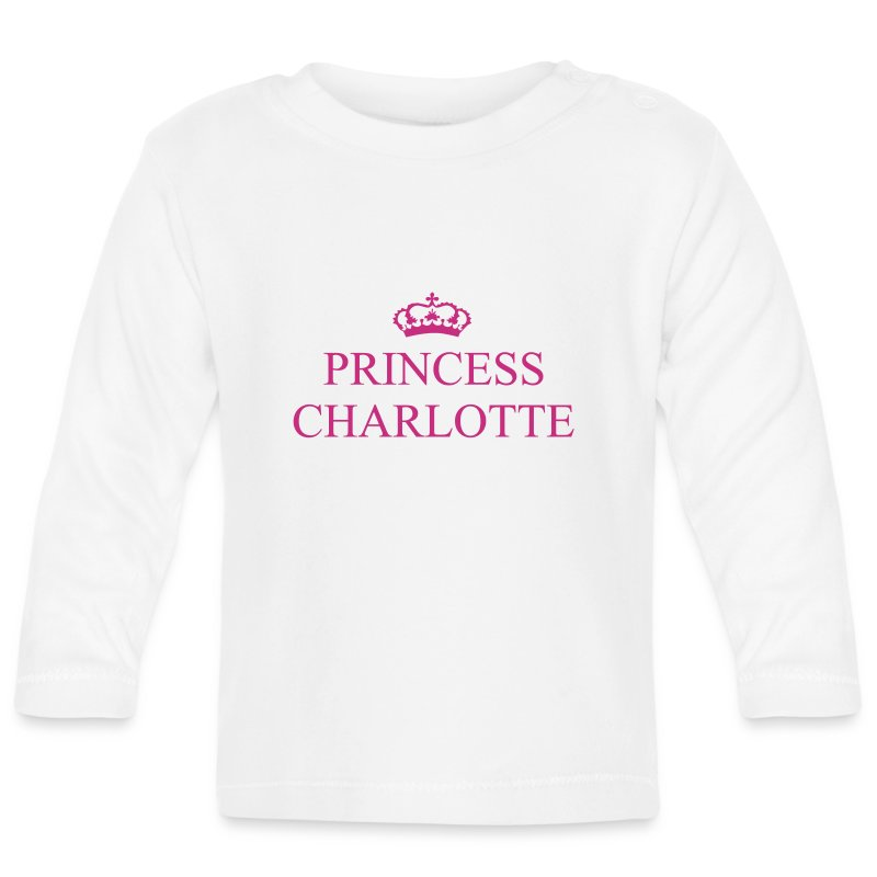 Gin O'Clock Princess Charlotte LS Top - from the official Gin O'Clock shop. - Baby Long Sleeve T-Shirt